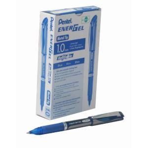 Pentel 12 stylos roller Energel BL60-C noir (1 mm)