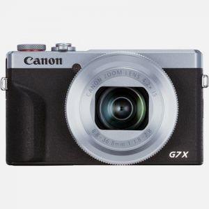 Canon Appareil photo compact PowerShot G7X Mark III Silver