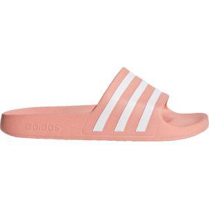 Adidas Sandales Adilette Aqua - UK 12 Pink/White Tongs