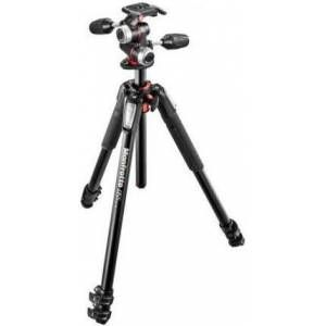 Manfrotto Kit 055 alu 3 Segmente + Stativ-Set MK055XPRO3
