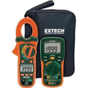 Extech Kit de mesure électrique ETK35 avec multimètre EX205T et pince ampèremétrique TRMS AC/DC MA435T