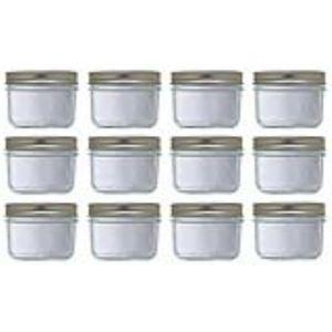 Le Parfait 900560 - Pack de 6 bocaux Familia Wiss en verre
