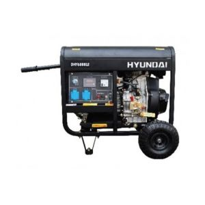 Hyundai Groupe électrogène diesel 6500w DHY8500LEK-3 triphasé