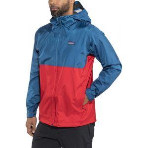 Patagonia Torrentshell - Veste Homme - rouge/bleu M Vestes de pluie