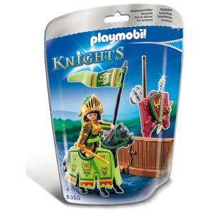 Playmobil 5355 Knights - Combattant de tournoi Clan de l'Aigle