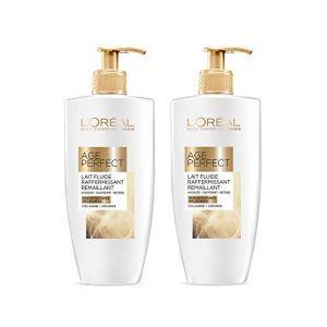 L'Oréal Age Perfect Lait Fluide Raffermissant Remaillant Peaux matures relachées 250 ml