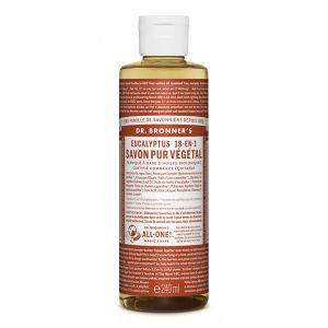 Dr bronner's Savon liquide eucalyptus 236 ml