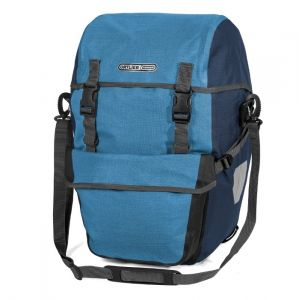 Ortlieb Sacoche Bike-Packer Plus F2703 - Bleu Denim / Acier