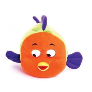 Décar Peluche Poisson orange / vert 30 cm