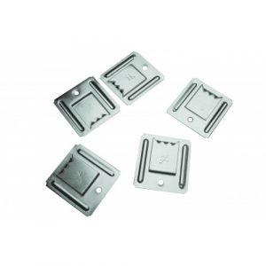 Simpson Strong-Tie SIMPSON - Clips à lambris PVC inox - 150 pièces - SFT