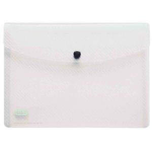 Elba Chemise de présentation à pression 18 x 25,5 cm incolore - Lot de 5