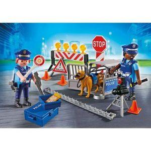 Image de Playmobil 6924 - Barrage de Police