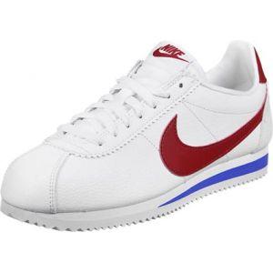 Nike Classic Cortez Leather Lo Sneaker chaussures blanc rouge bleu blanc rouge bleu 45 EU