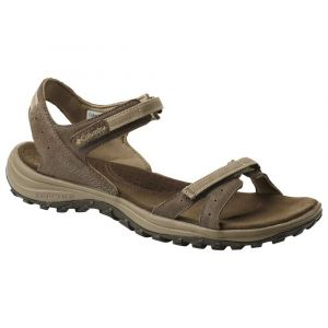 Columbia Femme Sandales, SANTIAM, Taille 40, Brun (Mud, Sandy Tan)