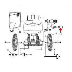 Procopi 1024504 - Raccord tournant de tuyau robot Victor R300