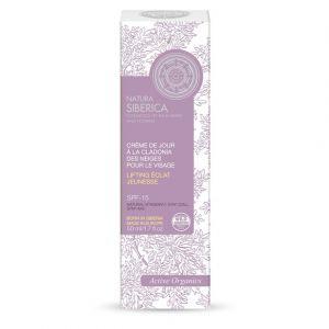 Natura siberica Crème de jour à la Cladonia des Neiges pour le visage SPF 15 - Le tube de 50ml