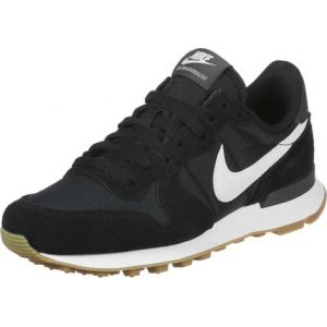 Nike WMNS Internationalist, Chaussures de Running Femme, Multicolore (Black/Summit White-Anthracite-Sail 021), 36.5 EU
