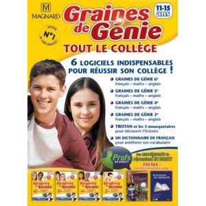 Graines de génie : Tout le college (6e, 5e, 4e, 3e) 2008/2009 [Windows]