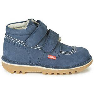 Kickers Boots enfant NEOVELCRO bleu - Taille 24,25