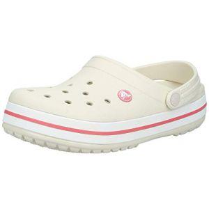 Crocs Crocband - Sandales de marche taille M6 / W8, gris/blanc