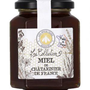 Les apiculteurs associés Miel de châtaignier de France - La Collection - Le bocal de 375g
