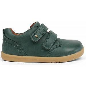 Bobux IW Port Shoe, Baskets garçon, Vert (Forest 632703), 26 EU