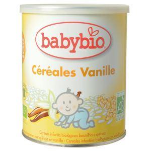 BabyBio Céréales Vanille 220g - dès 6 mois