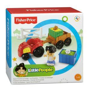 Fisher-Price Tracteur et remorque Little People