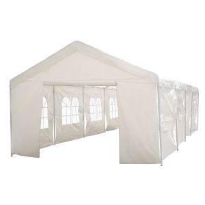 Viva Green Celia 50 m2 - Tente de réception en polyéthylène 5 x 10 x 2,9 m