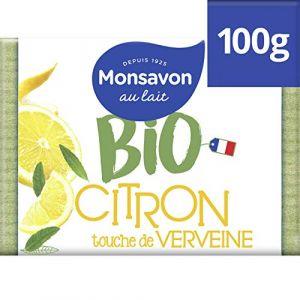Monsavon Bio Pain de Toilette Hydratant parfum Abricot et Pointe de Basilic