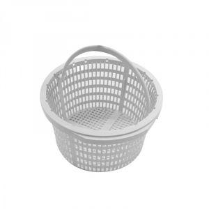 Linxor Panier rond pour skimmer de piscine - Diam 18.8 cm - Blanc