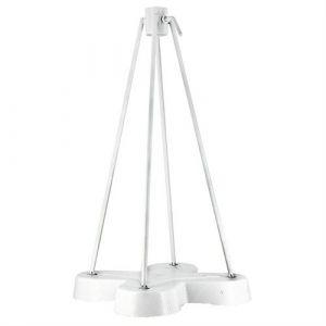 Grillot Parasol Pied parasol en fonte blanc
