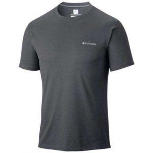 Columbia Zero Rules Chemise manches courtes Homme, black L T-shirts techniques