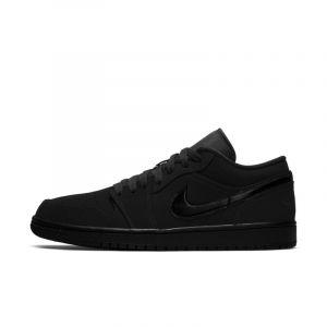 Nike Chaussure Air Jordan 1 Low pour Homme - Noir - Taille 40 - Male