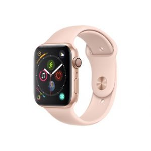 Apple Watch Series 4 GPS 44 mm Boîtier en aluminium or avec Bracelet Sport rose des sables