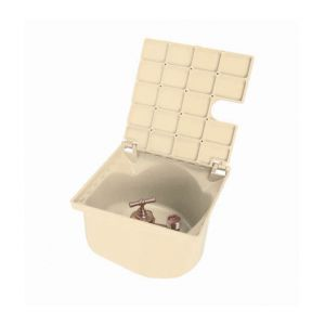 Nicoll Bouche d'arrosage carrée a robinet 1/4 de tour sable