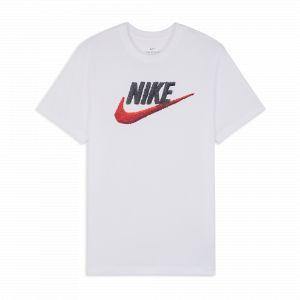 Nike Tee Shirt Brand Mark Blanc Xs Homme