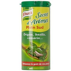 Knorr Assaisonnement En Poudre Secret D'Arômes Plein Sud Tube 60g
