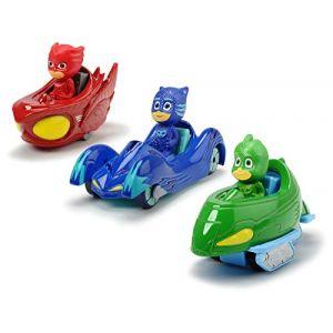 Smoby Pyjamasques - Coffret 3 véhicules en métal