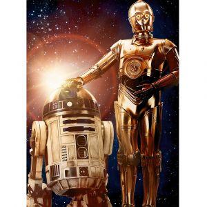 Ravensburger Star Wars R2-D2 et C-3PO - Puzzle 200 pièces XXL