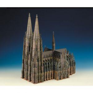 Schreiber-bogen 655 - Maquette en carton Cathédrale de Cologne, Allemagne