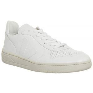 Veja Baskets mixte cuir modèle V10 Blanc - Taille 43;44;45;46