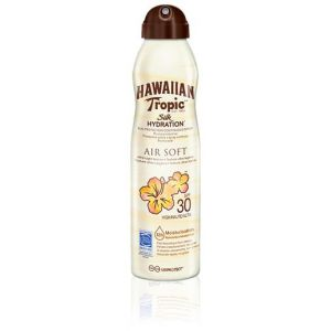 Hawaiian Tropic Air Soft Silk Hidratante Bruma Spf 50 177 Ml