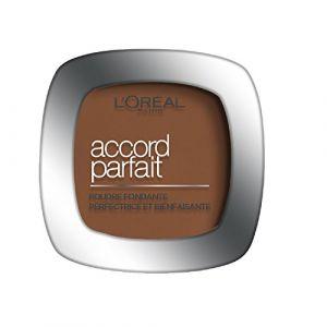L'Oréal Accord Parfait 10.D. Doré Foncé - Poudre fondante perfectrice et bienfaisante