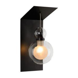 Lucide Applique design Mads Noir Verre 77270/01/30