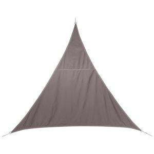 Hesperide Toile solaire / Voile d'ombrage Curacao - 2 x 2 x 2 m - Taupe
