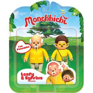 Silverlit Pack 2 figurines Feuillu & Sylvus Monchhichi