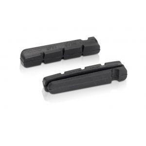 XLC Patins de rechange BS-X15 Shimano Jante aluminium (x4) Noir