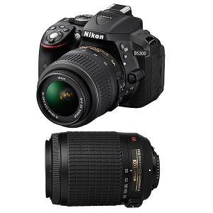 Nikon D5300 (avec 2 objectifs 18-55mm et 55-200mm)