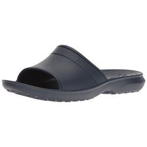 Crocs Classic Slide, Mules Mixte Adulte, Bleu (Navy), 43-44 EU